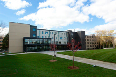 Dorms at University of Wisconsin Whitewater