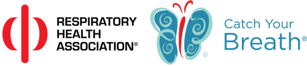 Respiratory Health Association's Catch Your Breath Women and Lung Health Initiative logo