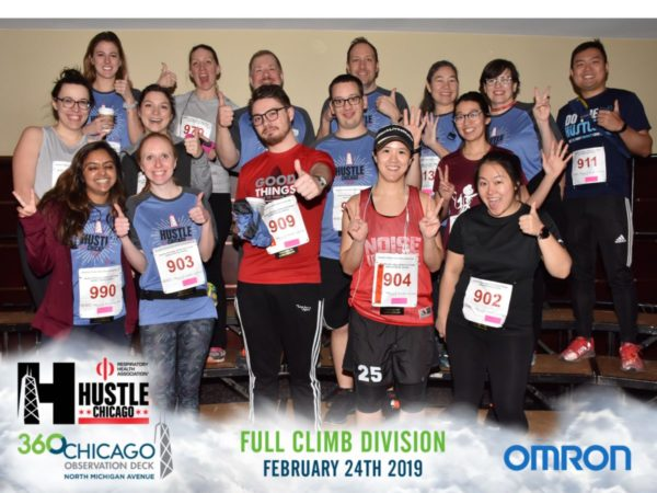 RHA Hustlers team photos at Hustle Chicago 2019