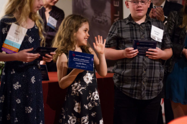 Next Generation Advocates at RHA's 2018 volunteer recognition night